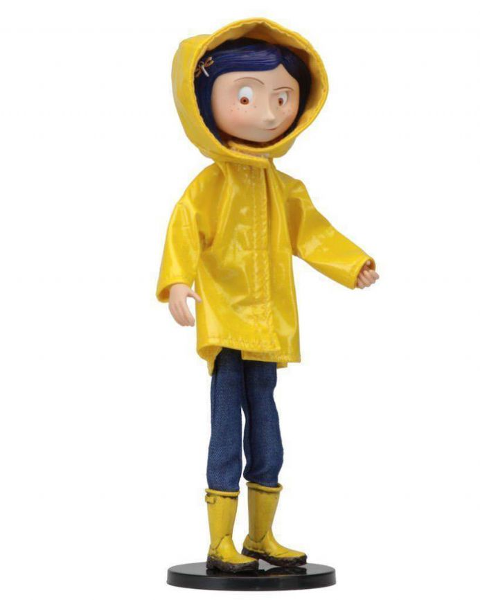"Coraline 7"" Bendy Doll in Raincoat 